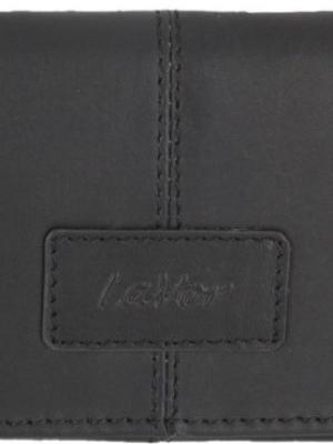 Καπνοθήκη Δερμάτινη με Διπλό Μαγνητικό Κούμπωμα Μαύρο Lavor 3034