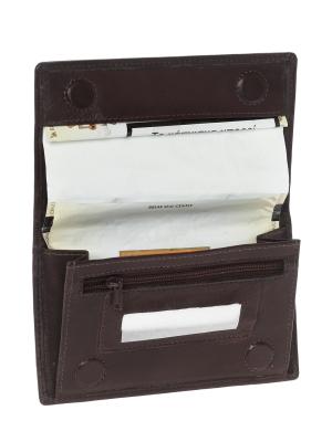 Δερμάτινη Καπνοθήκη με Επένδυση latex που Προστατεύει και Διατηρεί την Υγρασία Lavor 27473 Καφέ